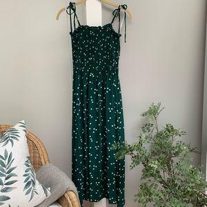 FAITHFUL THE BRAND Smocked Midi Dress